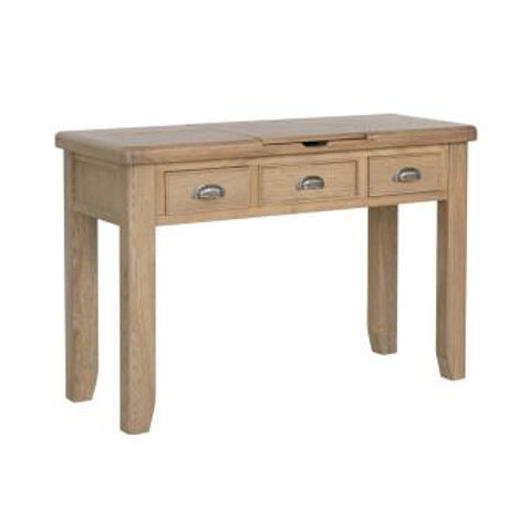 country oak dressing table