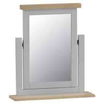 DORSET GREY COLLECTION DRESSING TABLE MIRROR