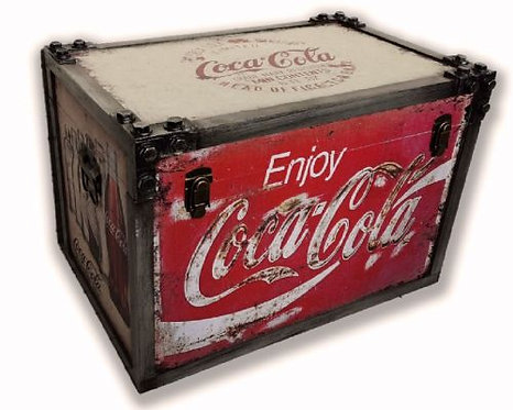 Large Retro Coca Cola Chest