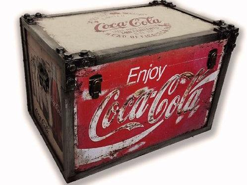 Large Retro Coca Cola Chest