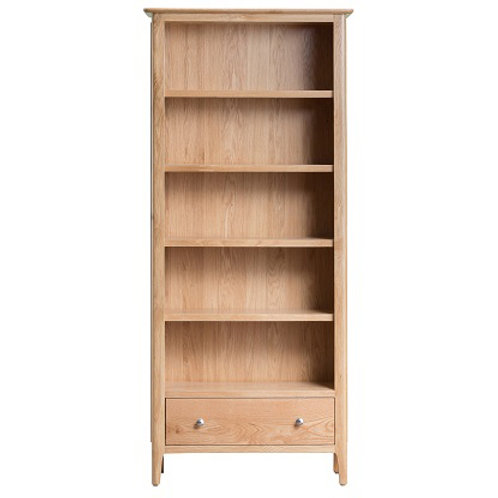New Bromley Oak Large Bookcase