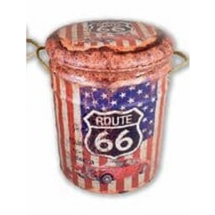 route 66 large stool style 2