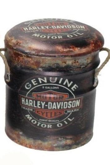 HARLEY DAVIDSON BIN/STOOL small