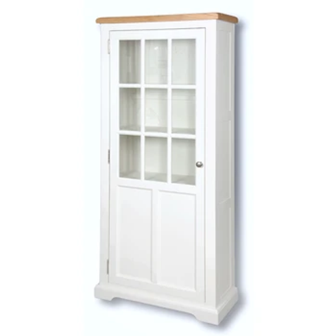 EPSOM WHITE MED GLAZED DISPLAY UNIT