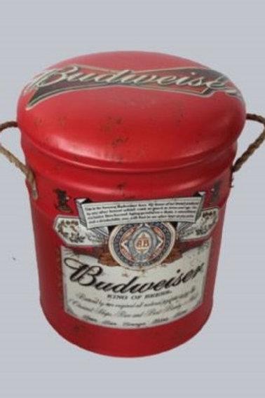 BUDWEISER STOOL /BIN MED
