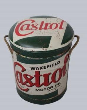 CASTROL STOOL/BIN MED