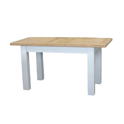 EPSOM WHITE PAINTED SMALL DINING TABLE