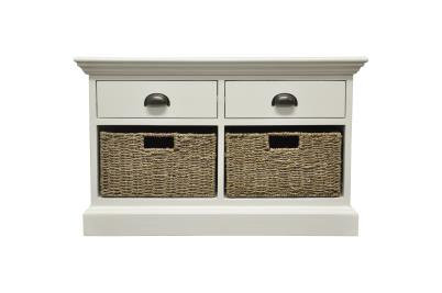 Occasional range 2 drawer 2 basket unit