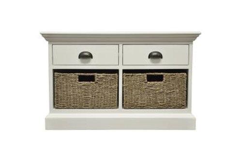 Occasional range 2 drawer 2 basket unit