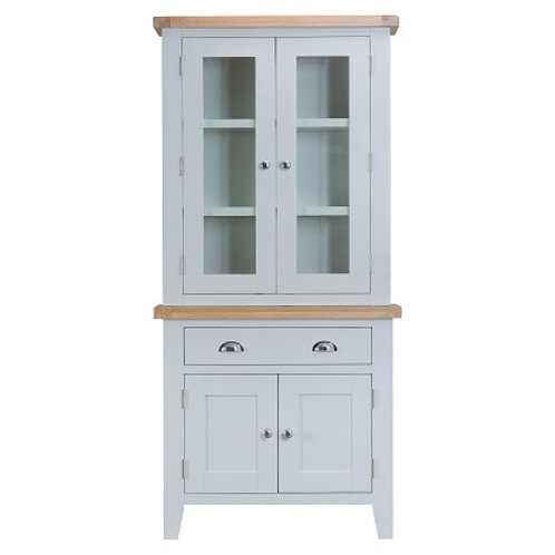 DORSET GREY PAINTED RANGE SMALL DRESSER  WITH LIGHTS