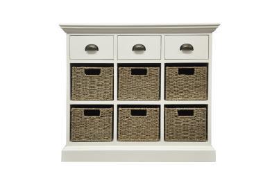 Occasional range 3 drawer 6 basket unit