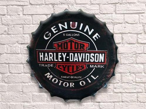 30cm harley davidson  bottle top