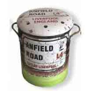 STOOL/BIN ANFIELD ROAD MED