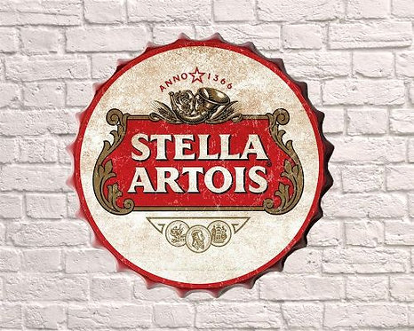 stella artois small bottle top