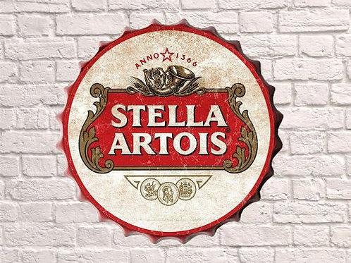 stella artois 30cm  bottle top