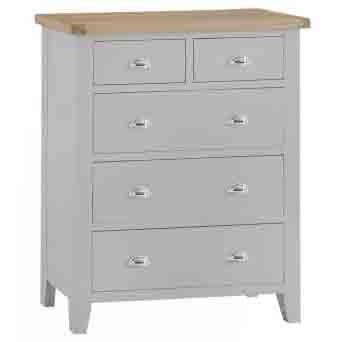 DORSET GREY COLLECTION 2 OVER 3 CHEST JUMBO