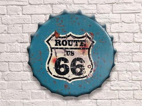 40cm route 66 bottle top
