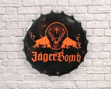 small bottle top jager bomb