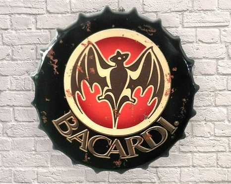 Bacardi top bottle small