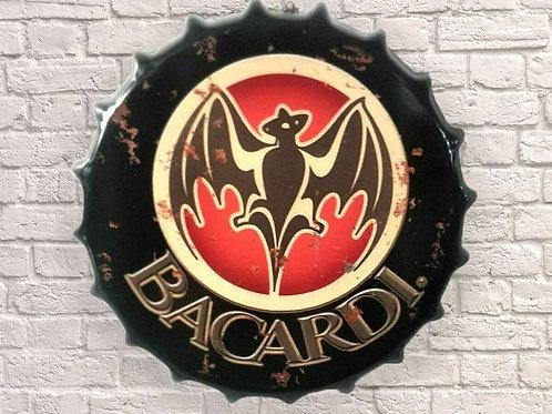 40cm bottle top Bacardi