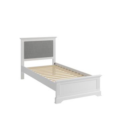WHITE  BROMPTON 3FT BED FRAME