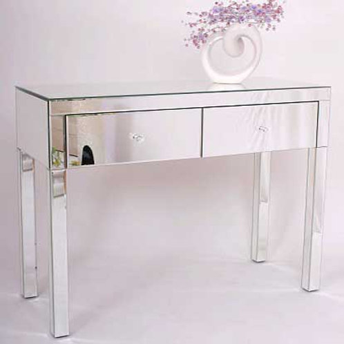 Venetian All Glass Large Dressing Table