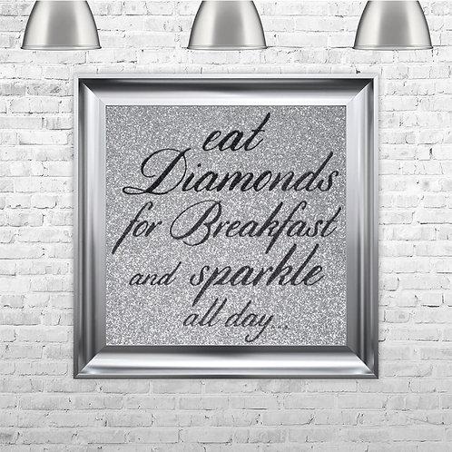 Eat diamonds