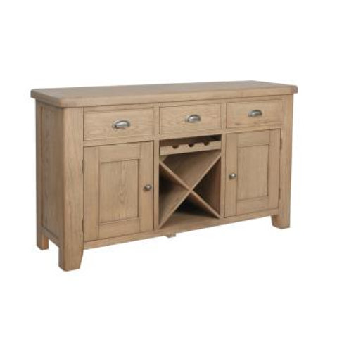 country oak large sideboard