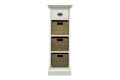 Occasional range 1 drawer 3 basket unit