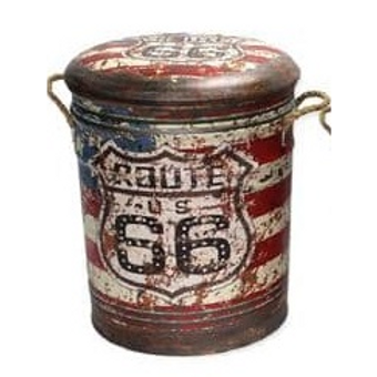 route 66 stool med style 3