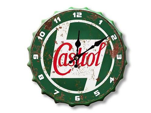 castrol bottle top clock