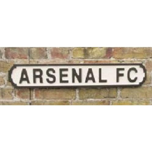 VINTAGE SIGN ARSENAL FC