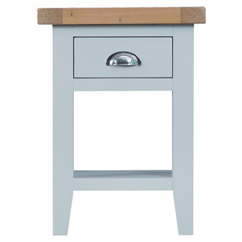 DORSET GREY PAINTED RANGE SIDE TABLE