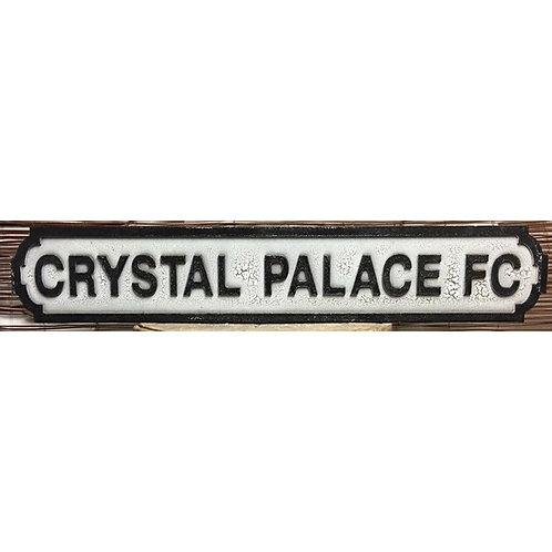VINTAGE SIGN CRYSTAL PALACE FC