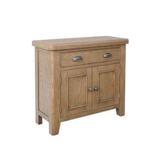 country oak 1 drawer 2 door sideboard