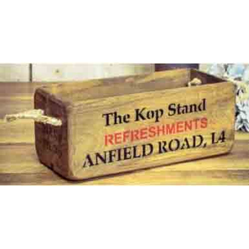 WOODEN BOX SMALL ANFIELD ROAD