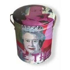 God save the queen small stool