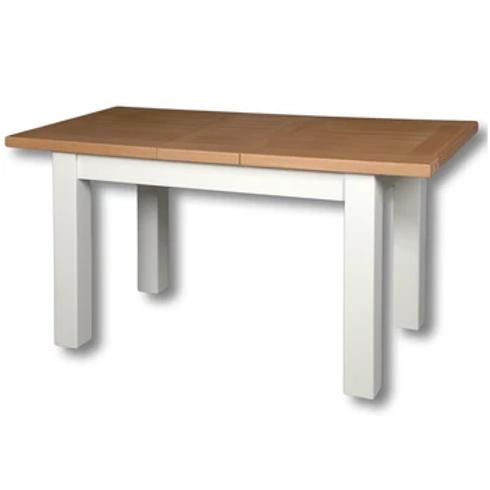 EPSOM WHITE  DINNING TABLE 1.2 TO 1.5