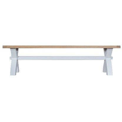 DORSET GREY PAINTED RANGE SMALL BENCH