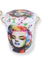 MARILYN STOOL/BIN SMALL
