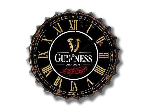 guinness bottle top clock