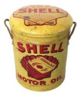 SHELL STOOL/BIN MED