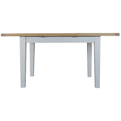 DORSET GREY PAINTED RANGE LARGE DINING TABLE 1.6 MT