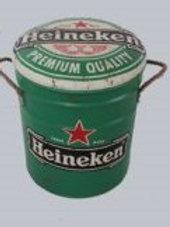 Heineken small stool/bin