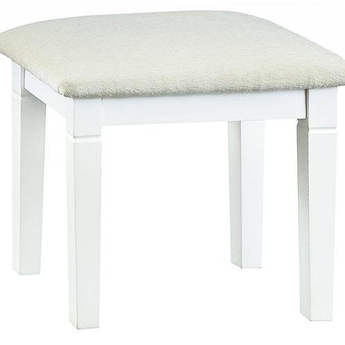 CAMDEN WHITE STOOL