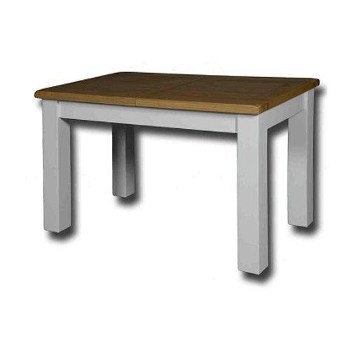 EPSOM WHITE PAINED  MED EXTENDING TABLE