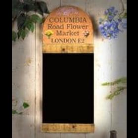COLUMBIA ROAD FLOWER MARKET BLACKBOARD