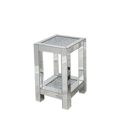 Crushed Glass side table