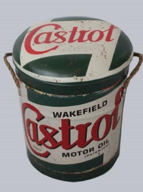 CASTROL STOOL/BIN LARGE