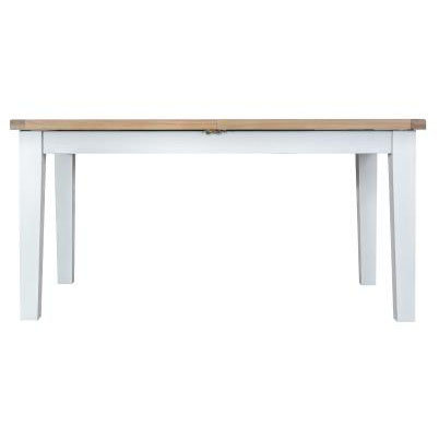 DORSET WHITE  COLLECTION 1.6MT BUTTERFLY TABLE